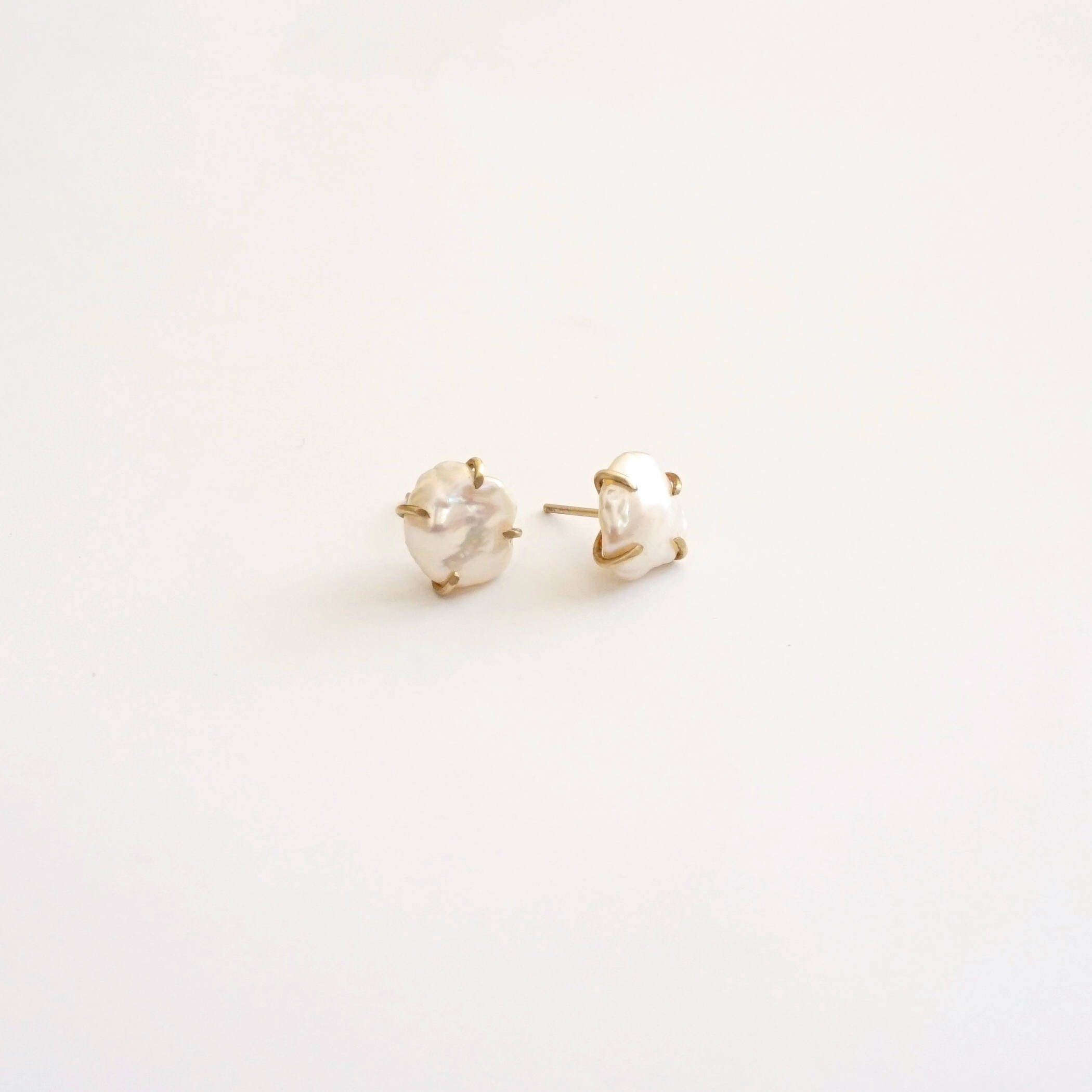 white l earrings stud raya sablan pearl june designs ot daisy silver spear maya