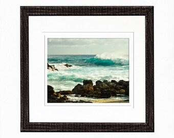 Beach Wall Art Ocean Wall Art Prints Coastal Photography Wave Photography Print Ocean Print Home Decor Photos for Cards Beach Card Seascape