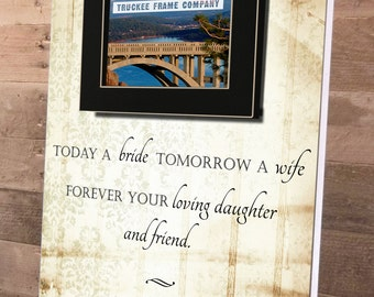Mother Of The Bride, Mother of the Bride Gift, Mother of the Bride Picture Frame, Thank You Gift for Mom