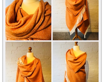 Vibrant Orange Wrap
