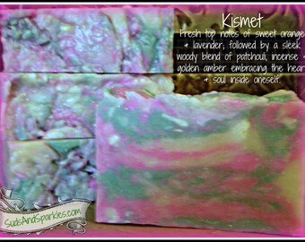 Kismet - Rustic Suds Natural - Organic Goat Milk Triple Butter Soap Bar - 5-6oz. Each