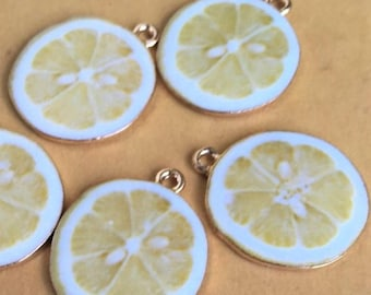 Lemon charm/ Fake lemon /