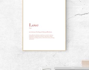 Love Graphic Print - Digital File