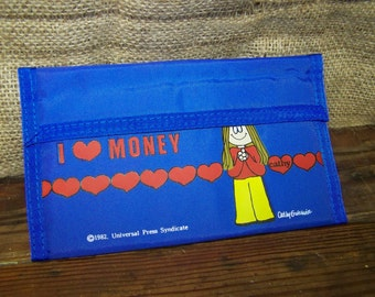 Cathy Guisewite Wallet I Love Money Wallet