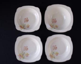 Paden City Pottery Jonquil Bowl set of 4