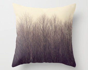 Throw Pillow Case, PNW, Forest, Trees, Treescape, Home Decor,  Photography by RDelean