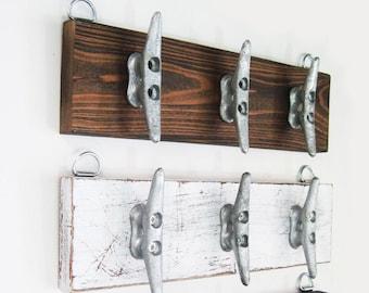 Boat Cleat Key Rack Nautical