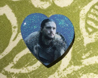 JON SNOW: pin or magnet