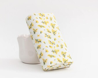 Digital Textile Printed Freesia Cotton by the yard (width 44 inches) 93279