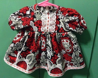 "20-22"" doll clothes dress"