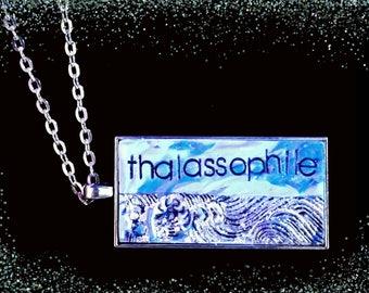 Thallasophile Ocean Lover Pendant Necklace