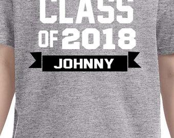 graduation shirt, personalized graduation shirt, class of year shirt