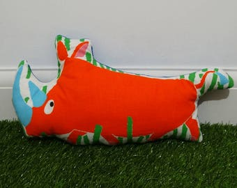 Little Rhino Cushion