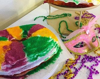 Mardi Gras Kings Cake