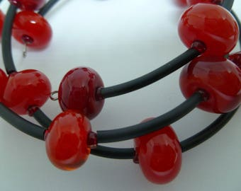 Bracelet Shades of Red