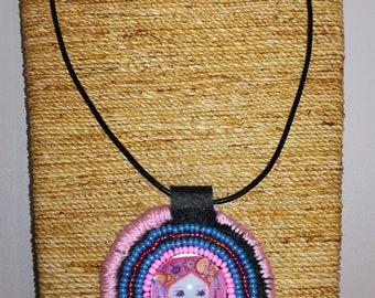 Anouk beading necklace