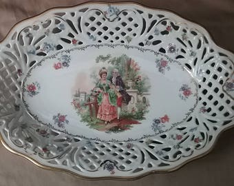 Cico China Made in Germany US Zone 14 platter