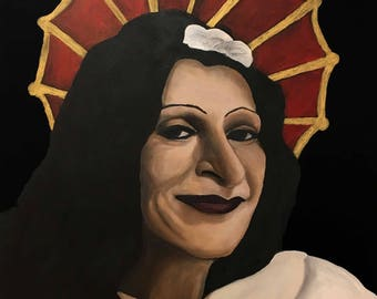 Sylvia Rivera icon print