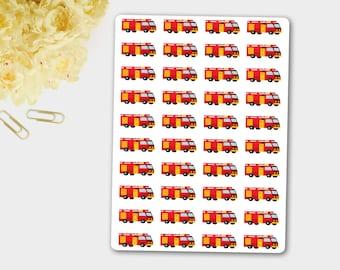 Firetruck Stickers, Firefighter Stickers, Shift Sticker