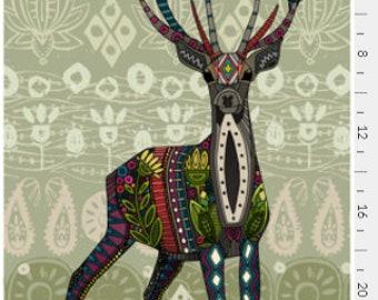 Tea towel Deer illustration, Deer Tea Towel, Home Essentials, Gift for Her, Gift under 15, House Warming Gift, Mother's Day Gift