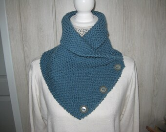 woolen snood round neck/scarf men