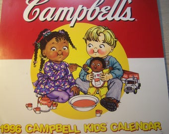Retro Campbell's Kids Calendar and Past Cards / MINT / 1969