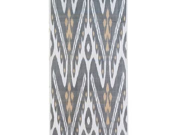 Sale! Ikat Fabric, Ikat Fabric by the yard, Hand Woven Fabric , A308