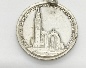 Mary/National Shrine of the Immaculate Conception Washington DC Medal