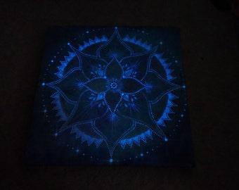 Drift Dream Glow in the Dark Mandala