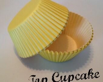 Yellow Cupcake Liners