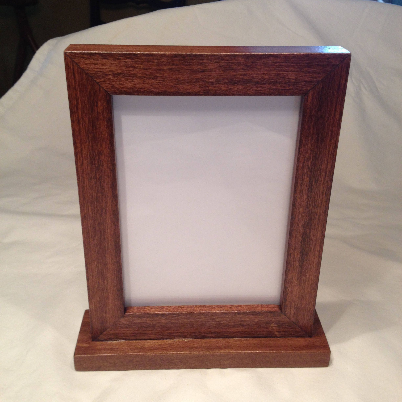 Freestanding Frame, 5X7 Picture Frame, 5X7 Frame, 8X10 Frame, Table ...