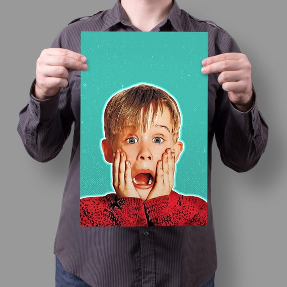 "Home Alone Kevin McCallister ""AAHHHHHHHH"" 11x17 Poster"