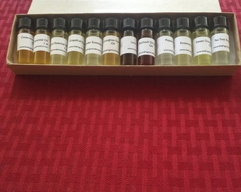 Essential Oil Kits, Essential Oils Set, Essential Oils Gift Set, Buy Essential Oils, Organic Essential Oils, Pure Essential Oils, 3.7 ml ea