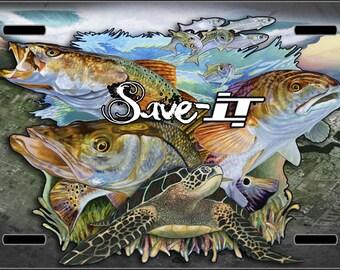 Jason Mathias - Save IT License Plate