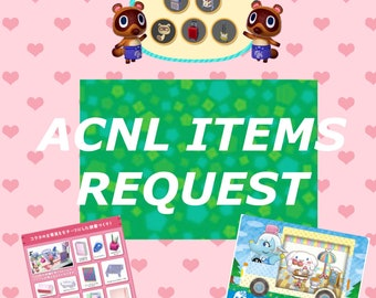 Animal Crossing New Leaf: Items Request Service