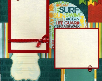 Premade Scrapbook Page - Life Is Good