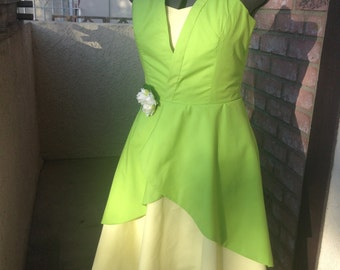 Tiana Disneybound Dress