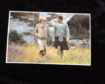 Vintage Postcard Royal Family