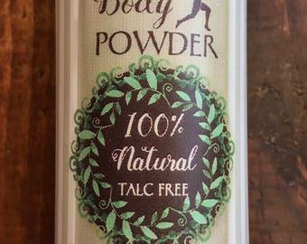 Woodland Body Powder 100% Natural Talc Free 3 oz