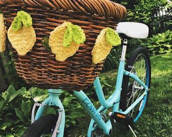 Lemon Decoration, Garland, Bike Basket, Gift