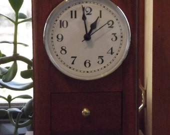 Inventory Reduction Sale - Small Kitchen Shelf Clock