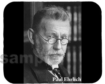 Mouse Pad; Paul Ehrlich