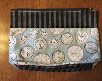 Time clock makeup pouch
