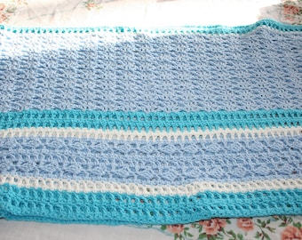 Crocheted Southern Diamonds Wrap/Shawl