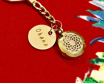 Oil Diffuser Keychain for Essential Oils