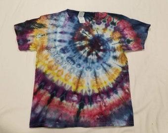 Funky Tie Dye Youth T-shirt size Medium s454