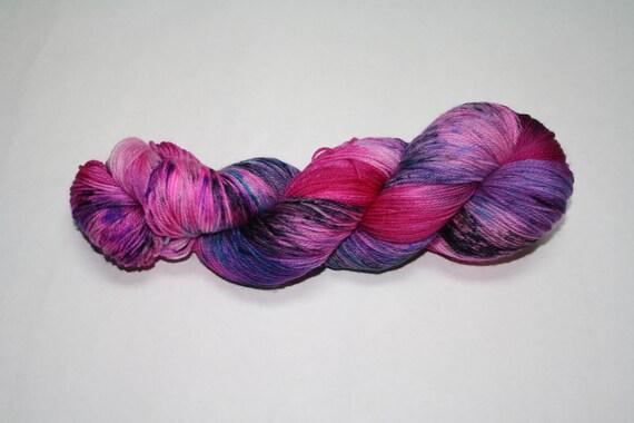 Hot Mess Express Hand Dyed Sock Yarn