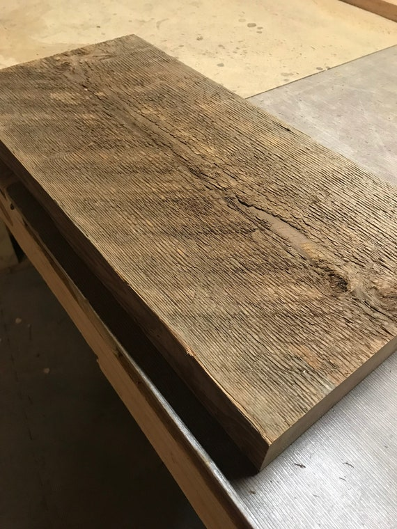 R A W salvage Unfinished salvage wood 21.75 x 10.5 x 1.75
