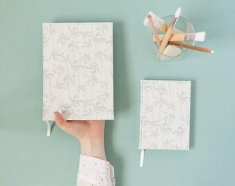 Summer among palm trees - Handmade notebook