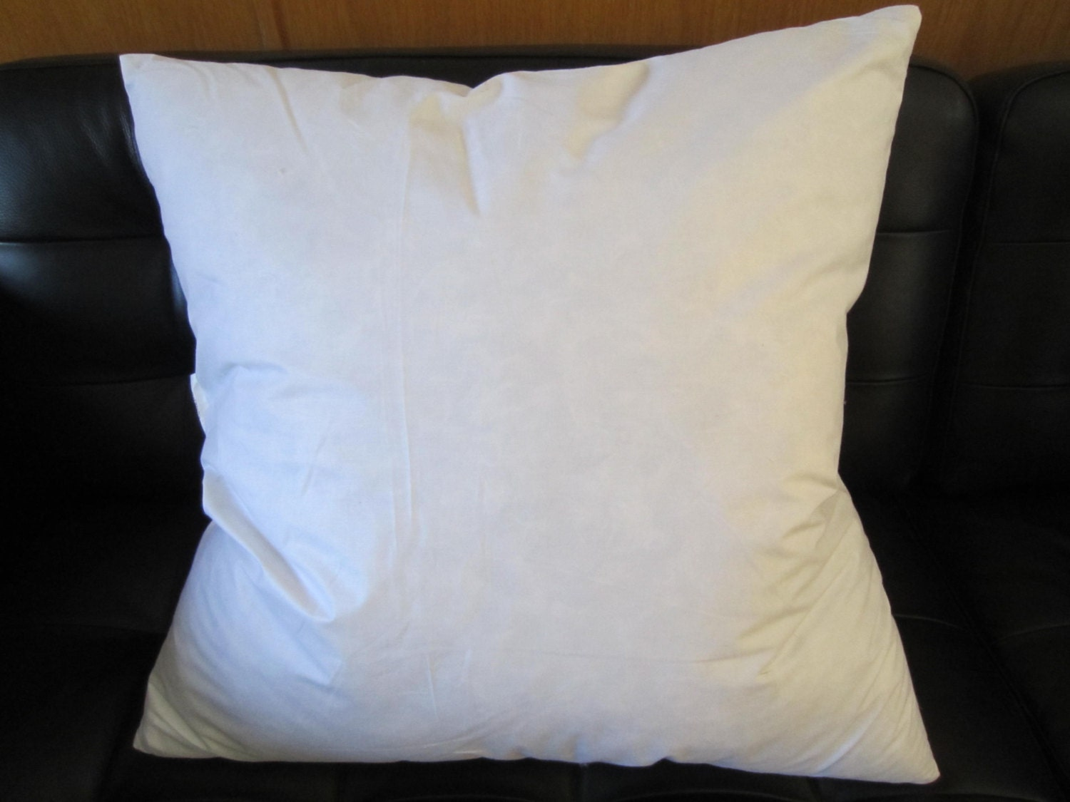 18 Feather/Down Insert Pillow Form 18x18 Square Fits